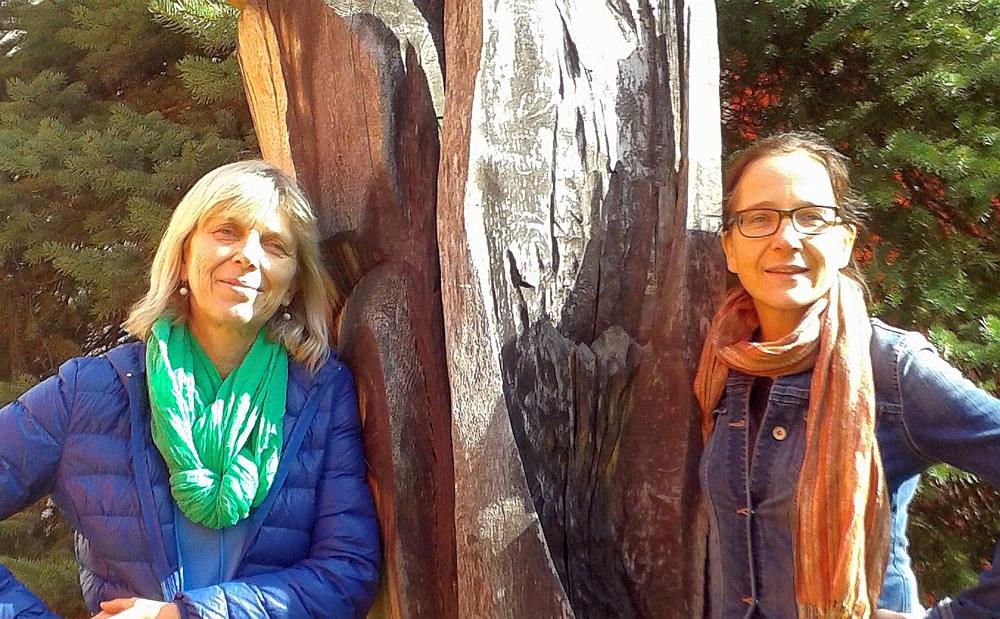 Gabriele Wiesner und Bettina Brenning